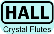 Hall Crystal Flutes - Logo