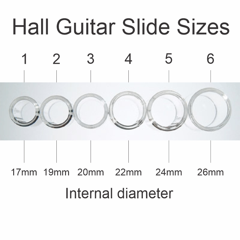Guitar Slide Sizes